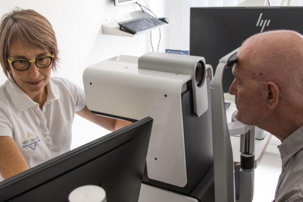 Biometer Argos Augendiagnostik in den MVZ DerArzt Augenzentren