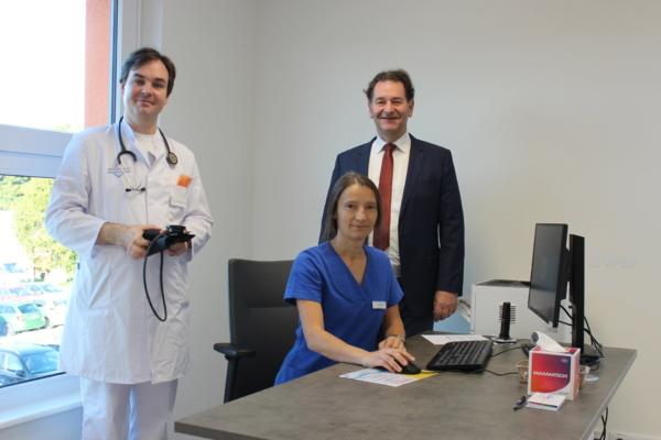 Dr. Meister und Dr. Mironov im Hausarzt- und Facharztzentrum in Marienberg   MVZ DerArzt