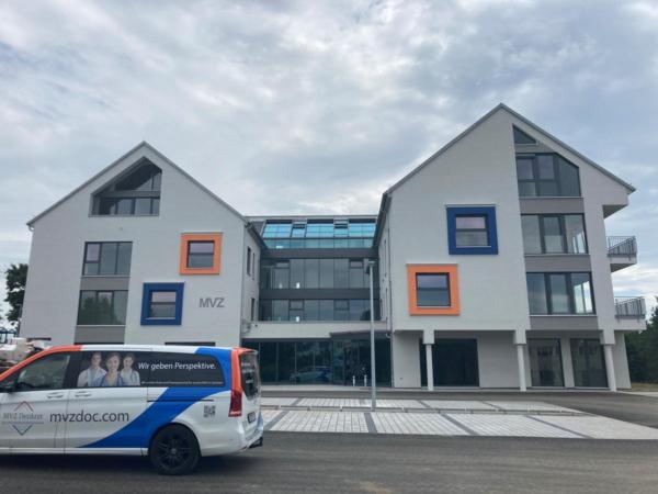 Hausarzt- und Facharztzentrum in Marienberg - Baufortschritt   MVZ DerArzt
