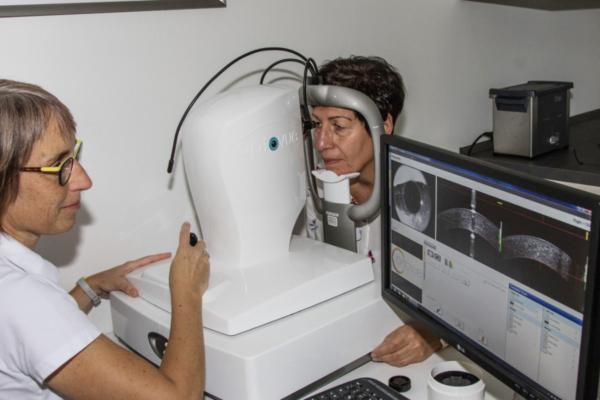 OCT Angiographie Augendiagnostik in den MVZ DerArzt Augenzentren
